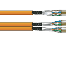 Cables de datos Cat. 6SubA (Apantallado)
